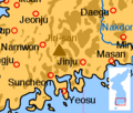 Korea south jiri-san locmap.png