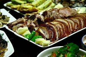 Jokbal - Image: Korean cuisine Jokbal 02