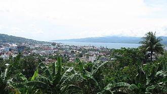 Maluku (province) - Image: Kota Ambon