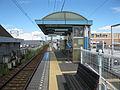 Kotoden-Nagao-line-Gakuen-dori-station-platform-20100805.jpg