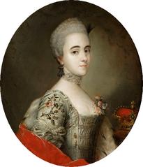 Portrait of Franciszka Krasińska (1744-1796).