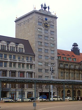 German Bestelmeyer - Image: Kroch Hochhaus Leipzig