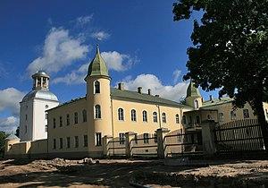 Krustpils Castle - Image: Krustpils palace (1)