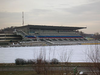Krylatskoye Rowing Canal - The venue in March 2008