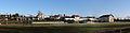 Krzeszów - KS Rotunda i przyległe budynki - panorama.jpg