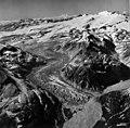 Kukak Glacier, valley glacier terminus, trimline, and firnline, August 24, 1960 (GLACIERS 7017).jpg