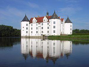Glücksburg Castle - Northeastern view