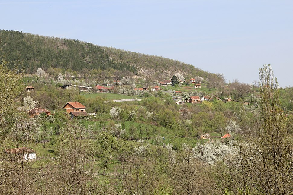 Kunice - opština Valjevo - zapadna Srbija - panorama 1