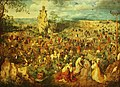 Kunsthistorisches Museum Wien, Pieter Bruegel d.Ä., die Kreuztragung Christi.JPG
