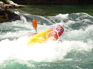 Whitewater kayaking - Kayaking around San Carlos de Bariloche, Argentina