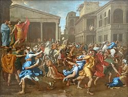 Nicolas Poussin: The Rape of the Sabine Women