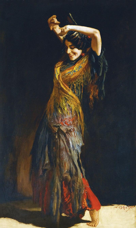 Léopold Schmutzler - The Flamenco Dancer