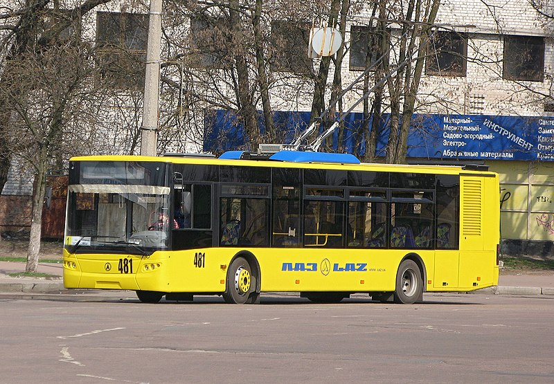 Chernihiv Ukraine  city photos : LAZ buses in Chernihiv, Ukraine Wikimedia Commons