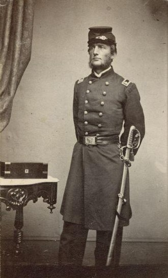 Lucius Fairchild - Lucius Fairchild, Lieutenant Colonel of the 2nd Wisconsin Infantry, before his promotion to Colonel on November 17, 1862.