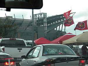 Lincoln Financial Field - Lincoln Financial Field before a Temple football game in 2011.