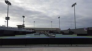 LSU Tennis Complex - Image: LSU Tennis Complex Front Courts
