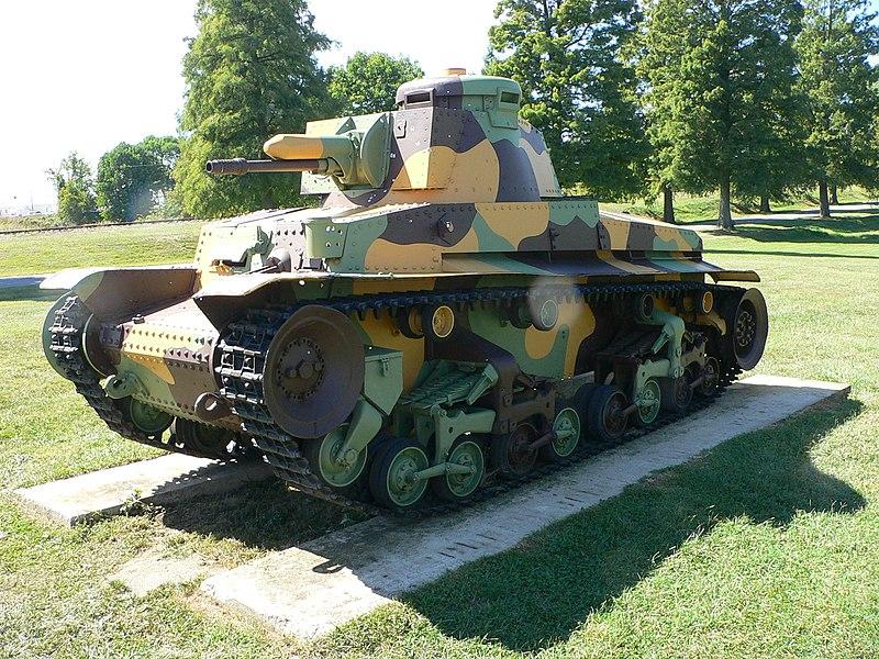 LT vz.35 in Czech camouflage