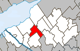 La Visitation-de-Yamaska Quebec location diagram.PNG