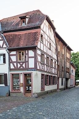Heidelberger Straße in Ladenburg