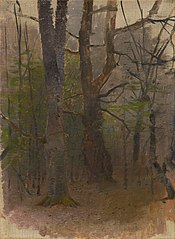 Early Spring. Forest