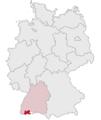 Lage des Landkreises Waldshut in Deutschland.png