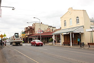 Laidley, Queensland - Main Street of Laidley, 2011