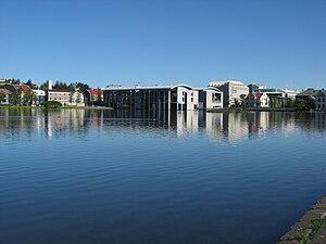 Reykjavík City Council - Image: Lake reflection