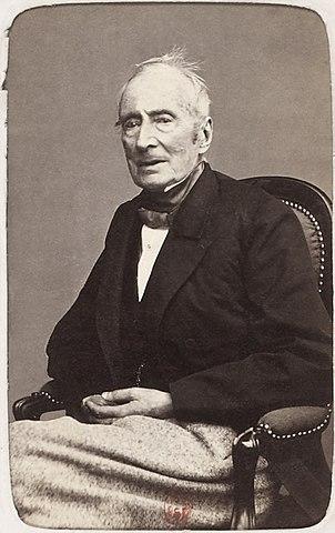Альфонс де Ламартин, ок. 1865