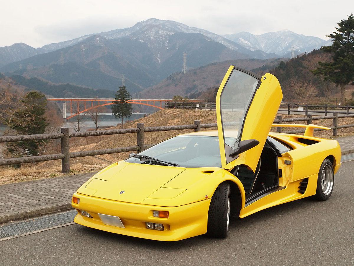 Lamborghini Diablo Википедия