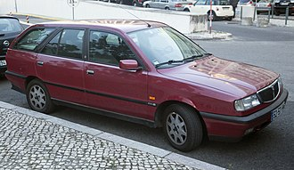 Lancia Dedra - Rear of Lancia Dedra SW 1.6 (Portugal)