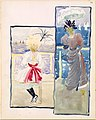 Large Boston Public Garden Sketchbook- A young girl and a woman gazing out to sea MET DT3400.jpg