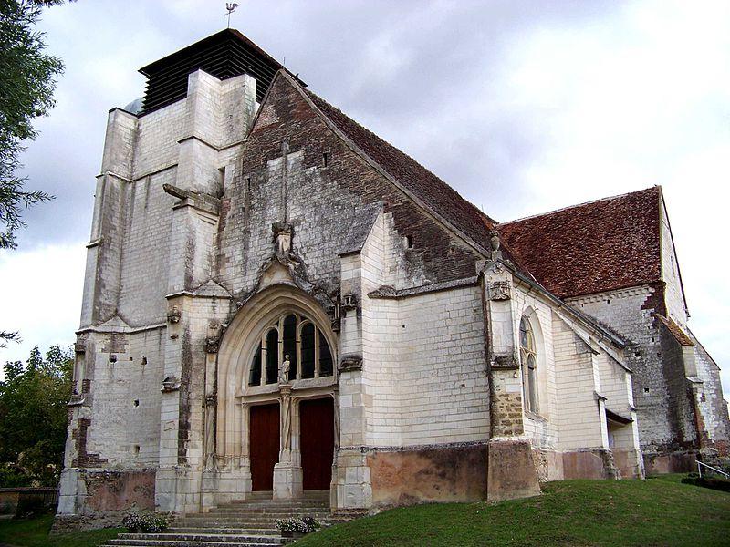 Église Saint-Jean-Baptiste de Lasson, façade occidentale