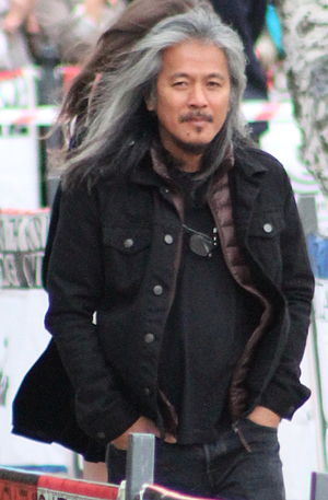 Lav Diaz - Diaz at the on the Edge Film Festival in 2015