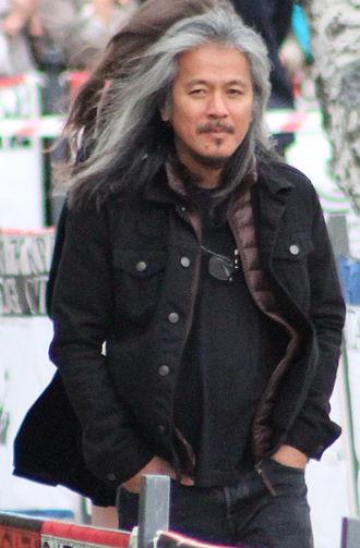 Lav Diaz - Diaz at the on the Edge Film Festival in 2015