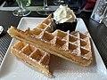 Le Canard pressé (restaurant) - gaufres au sucre (1).jpg