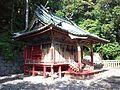 "Le Temple Shintô Takisan-Tôshô-gû - Le bâtiment principal ""Honden"".jpg"