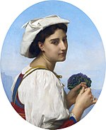 Le bouquet de violettes, by William-Adolphe Bouguereau.jpg