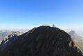 Le mont Fleuri (2511m) dans la chaîne des Aravis, Haute-Savoie..JPG