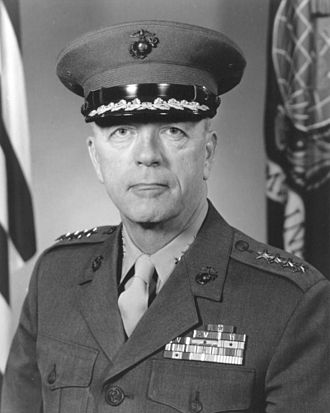 Leonard F. Chapman Jr. - 24th Commandant of the Marine Corps (1968-1972)