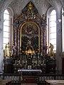 Lesachtal Wallfahrtskirche Maria Luggau Innen Hochaltar 1.JPG