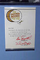 Letter from Smothers Brothers - Rock and Roll Hall of Fame (2014-12-30 12.48.29 by Sam Howzit).jpg