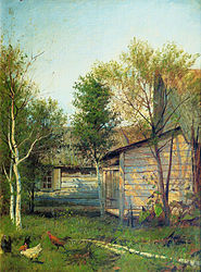 Isaac Levitan: Sunny Day. Spring