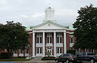 Liberty County Courthouse (Georgia) - Image: Liberty County Court House