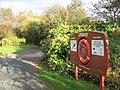 Lifebuoy, Castle Semple Loch - geograph.org.uk - 582263.jpg