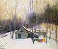 Lilla Cabot Perry, 1926 - A Snowy Monday.jpg