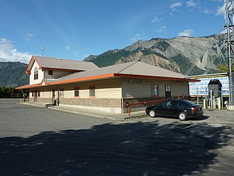 Lillooet - Lillooet Railway station
