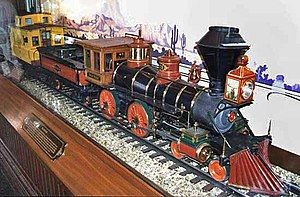 Carolwood Pacific Railroad - Image: Lillybelle Dland