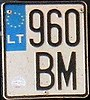 Lithuanian motorcycle plate.jpg