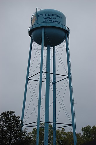 Little Mountain, South Carolina - Photo of water tower in Little Mountain, SC