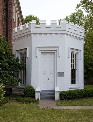 Gorgas–Manly Historic District - Little Round House, completed in 1860.